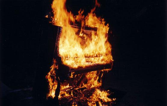 Piano Burn